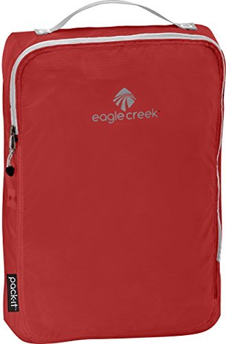 Eagle Creek Packtasche Pack-It Specter Cube Kofferorganizer, 36 cm, 10,5 l, rot/Volcano rot