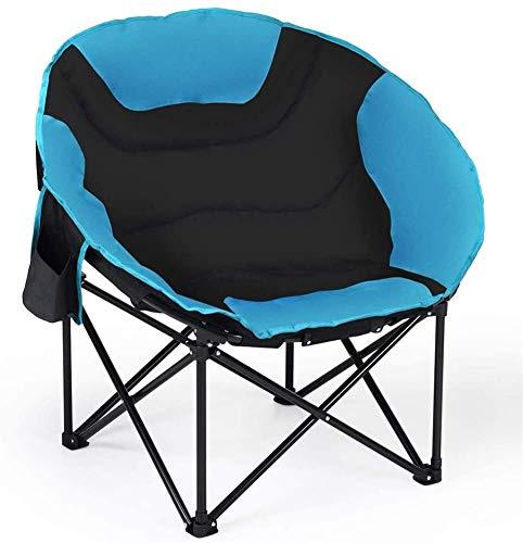 Ocio al aire libre plegable silla de camping portátil silla de camping marco de acero tela Oxford resistente y duradera de seguridad cómoda para acampar viaje de playa pesca picnics silla plegable