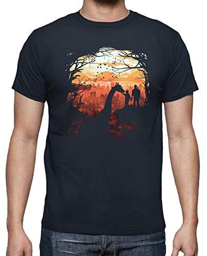 tostadora - T-Shirt The Last of Us - Uomo Blu Marino L