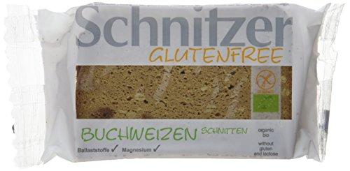 Schnitzer glutenfree Bio Buchweizen Schnitten, 6er Pack (6 x 250 g)