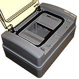 4 moduli IP65 DIN Rail Enclosure Box con porta esterna resistente alle intemperie ideale per unità di consumo RCD Contattori, Timer ecc