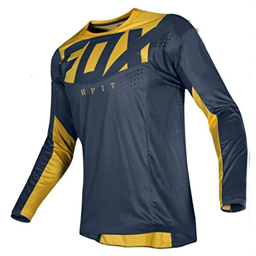 Men's Cycling Jerseys Tops Biking Shirts Long Sleeve Breathable Quick Dry Outdoor MTB Cycling Clothing for All Sports Training Bicycle Jacket,Style 3,M