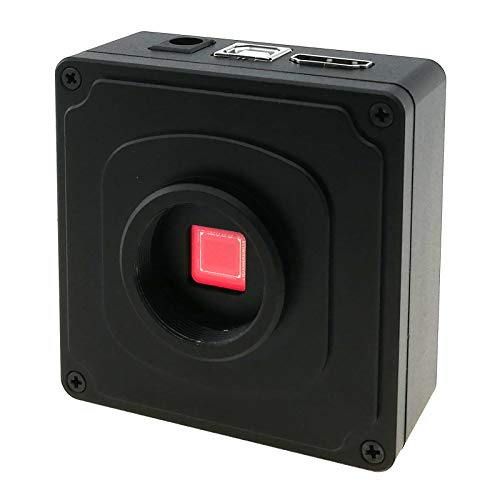 HDMI Microscope Camera 2K Video Digital Recorder C-Mount PCB Board Repair Soldering Magnifier 38MP Photo