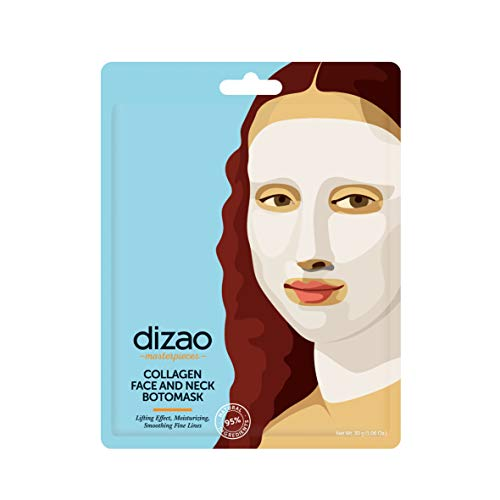 Dizao Organics Collagen Face And Neck Botomask - 1 Unidad