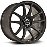 RTX R-Spec Stag Alloy Wheel/Rim Size 18x8.5 Bolt Pattern 5x100/5x114.3 Offset 35 Center Bore 73.1 Matte Black Center Caps Included Lug Nuts NOT Included (Rim Priced Individually)