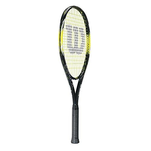 Product Image 2: Wilson Sporting Goods Energy XL Tennis Racquet (EA) , Yellow/Black, 4 3/8″