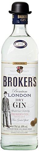 Brokers Gin Premium London Dry Gin 40% vol. (1 x 0.7 l)