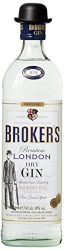 Brokers Gin Premium London Dry Gin 40% vol. (1 x 0.7 l)