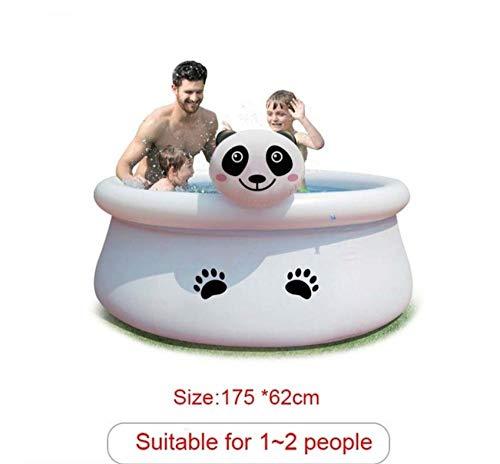 GLLCYL Piscinas Hinchables Piscinas De Jardín Piscinas Desmontables, Piscina Inflable Panda Gigante C