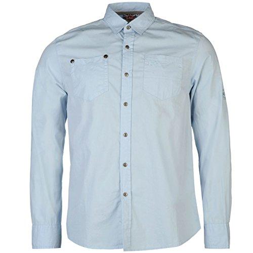 Lee Cooper - Camisa de manga larga para hombre