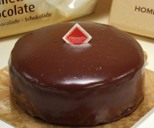 老舗のこだわり ザッハトルテ風 (チョコレートケーキ) 5号 ホール (ノーマル)