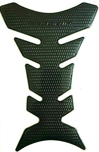 Tankpad Tankschutz Motorrad Carbon Optik Schwarz schmal universal