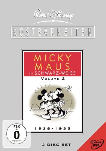 Walt Disney Kostbarkeiten - Micky Maus in schwarz-weiß - Volume 2 (2 DVDs)
