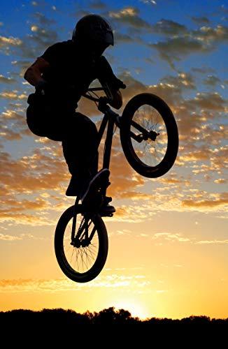 Bilderdepot24 Fototapete selbstklebend Airborne Bike - 65x100 cm