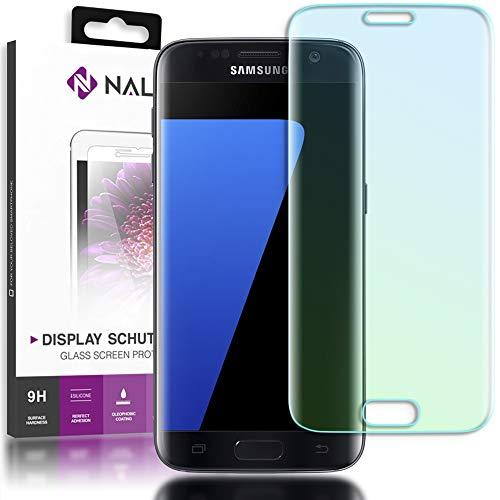 NALIA Cristal Templado Compatible con Samsung Galaxy S7 Edge, Vidrio Blindado Película...
