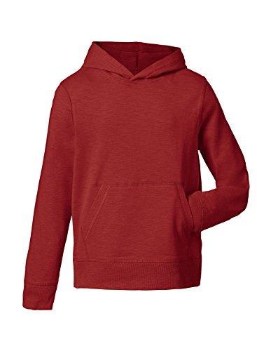 Maratus Mädchen   Jungen Kapuzenpullover Kinder Hoodie   Sweatshirt 98-104 / rot