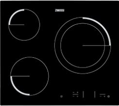 Zanussi Placa ZEV6331BBA 3VITRO TOUCHq, 1800 W, Vidrio y cerámica, Negro