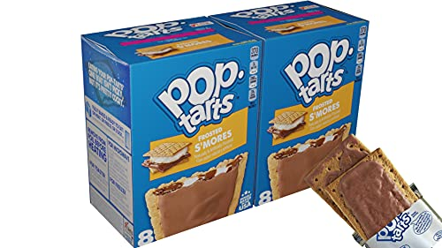 Kelloggs Poptarts frosted S'mores 2x8 Stück