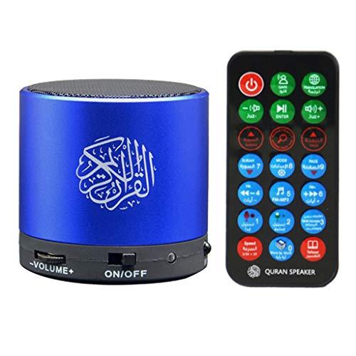 Sharplace Altavoz Inalámbrico Quran Altavoz Musulmán Portátil Reproductor MP3 Coran Traductor