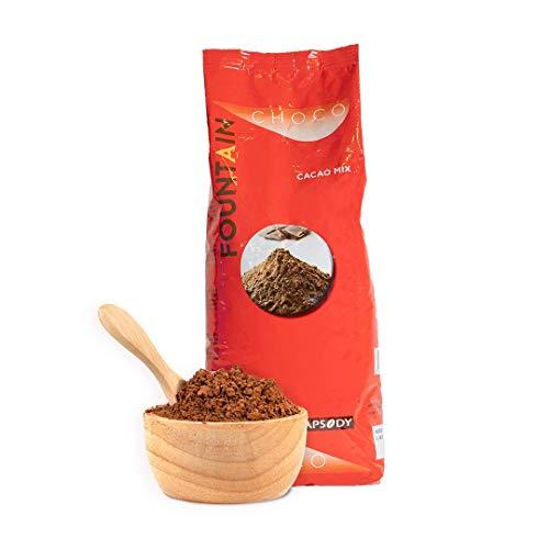 Fountain Cacao Mix – 1kg – Cacaopoeder compatibel met alle types van automatische machines. Recept met een volle smaak…