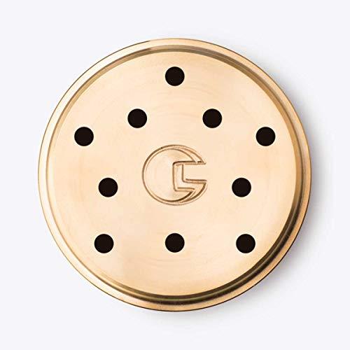 CAPO12 - Trafila in Bronzo N° 101 SPAGHETTONI per Torchio Kenwood e compatibile con Philips Pasta Maker Avance, Philips Viva, Fattorina, SilverCrest,