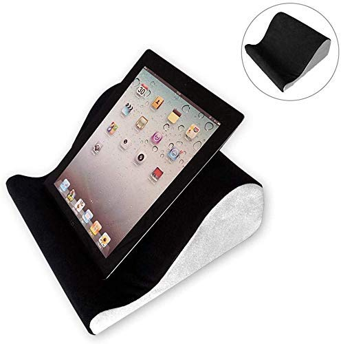 RuiXia WLT Tablet Pillow Stand Tablet Sofa - Lap Cushion Tablet, Keyboard, Laptop Holder, for iPads, Tablets, eReaders, Smartphones, Books, Magazines,B