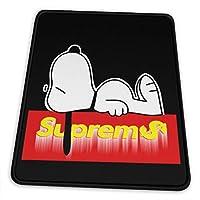 スヌーピー マウスパッド ゲーム用 ミニサイズ レーザー&光学マウス対応 20x24cm 防水/洗える/滑り止め