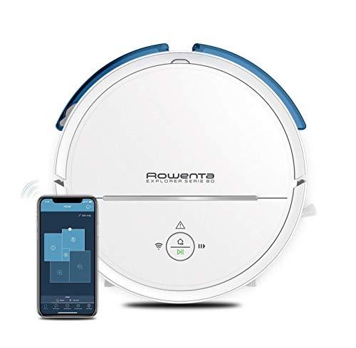 Rowenta Explorer Serie 80 Allergy Care Connect RR7747 - Robot Aspirador con mopa, navegación y mapeo permanente personalizado, Wifi (Reacondicionado)