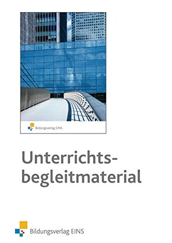 Bildungsverlag EINS Trade In: English for Wholesale, Export and Import Professionals - Unterrichtsbegleitmaterial