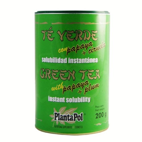Planta Pol Te Verde Papaya Insta 200G Plantapol 100 g