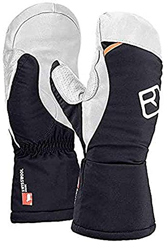 ORTOVOX Herren Swisswoll Freeride Mitten Handschuhe, Black Raven, S