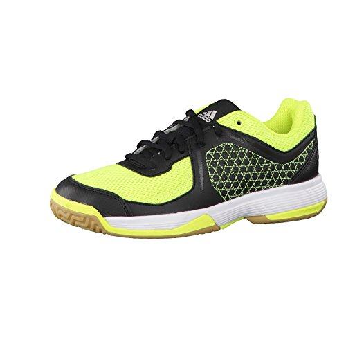 adidas Counterblast 3 K, Zapatillas de Balonmano Niños, Amarillo (Amasol/Plamet/Negbas), 33