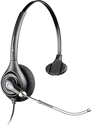 $39 » Plantronics Supraplus HW251 PLUS MONAURAL/VT HEADSET (Renewed)