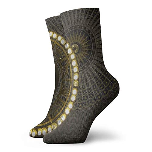 ghkfgkfgk Globe Deckenleuchte Lustige Neuheit Casual Crew Dress Socken für Frauen/Unisex 11,8 Zoll (30 cm)