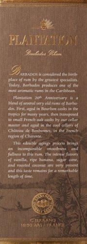Plantation Barbados Extra Old 20th Anniversary Rum - 6