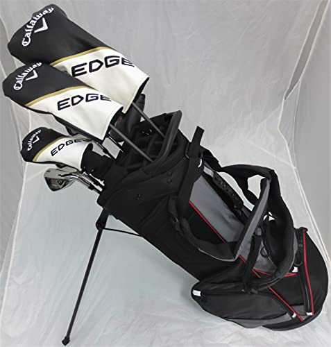 Mens Callaway Complete Golf Clubs - Set with Stand Bag Driver, 3 Wood, Hybrid, Irons, Putter, Right Handed Regular Flex