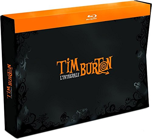 Tim Burton Collection - 18-Disc Box Set ( Pee-wee's Big Adventure / Beetlejuice / Batman / Edward Scissorhands / Batman Returns / The Nightmare Before Christmas [ Blu-Ray, Reg.A/B/C Import - France ]
