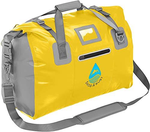 Skog Å Kust DuffelSåk Waterproof Duffle Dry Bags   90L Yellow