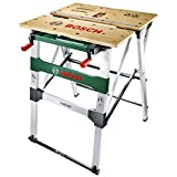 Bosch 0603B05200 PWB 600 Work Bench (4 blade clamps, cardboard box, max. load capacity: 200 kg), 834.0 mm*680.0 mm*552.6 mm