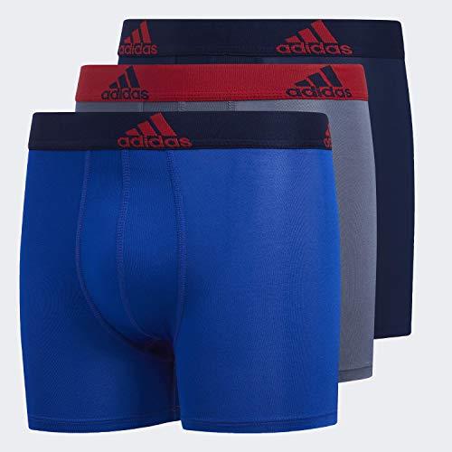 adidas Jungen Boxershorts für Jugendliche (3er-Pack)