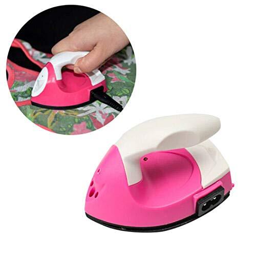 ZEWAN Mini Plancha eléctrica portátil para artesanía de Temperatura única Herramienta de Costura de calefacción de cerámica Profesional DIY artesanía Hierro de Viaje
