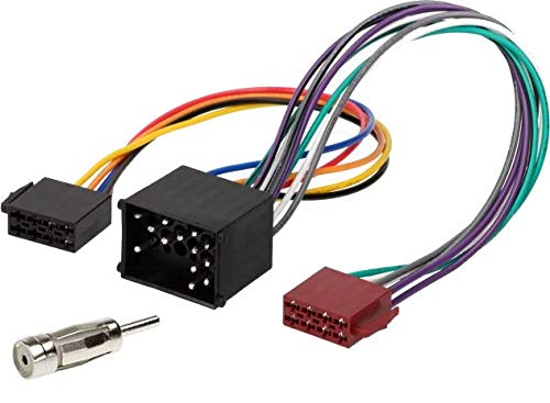 Sound-way Adapterkabel ISO Autoradio compatibel met BMW, Rover, Mini Cooper