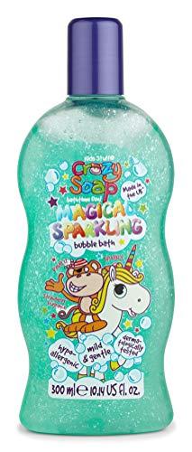 Kids Stuff Crazy - Jabón de burbujas que cambia de color, 300 ml, unicornio brillante mágic