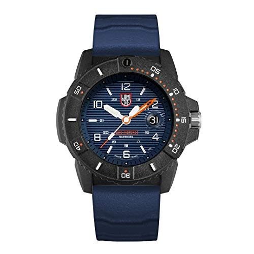 Luminox Navy Seal 45mm Watch for Man (XS.3603.RE/Series 3600): Magnifying Glass 200M Water Resistant Carbonox Case