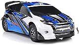 WGFGXQ Coche Todoterreno RC 1:18, Coche de Carreras Deportivo con Control Remoto, 2,4G, 45 km/h, vehículos de Deriva de Alta Velocidad, Regalos para niños, niñas, cumpleaños, Navidad
