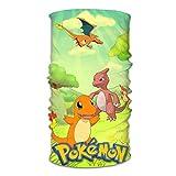 ghjkuyt412 Pokémon Anime Bandeau Bandana Course Visage Foulard Tube,...