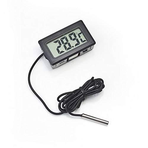 OUTOPEN Innentemperatur Luftfeuchtigkeitsmesser Thermometer Digital Temperatursensor Sonde Kit LCD