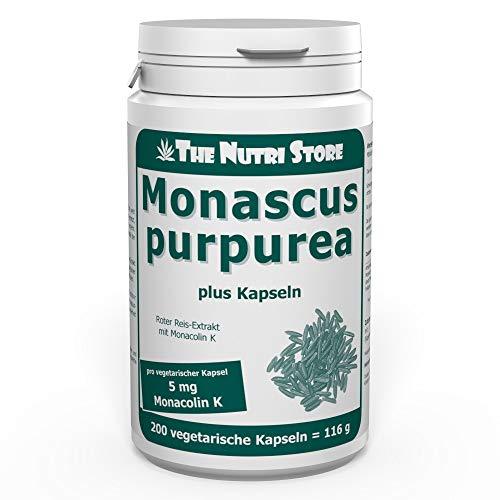 Monascus Roter Reis Extrakt 166 mg plus Kapseln 200 Stk.
