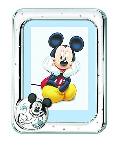 Valenti & Co Cadre Photo Argent Disney Mickey Souris 9 x 13 cm