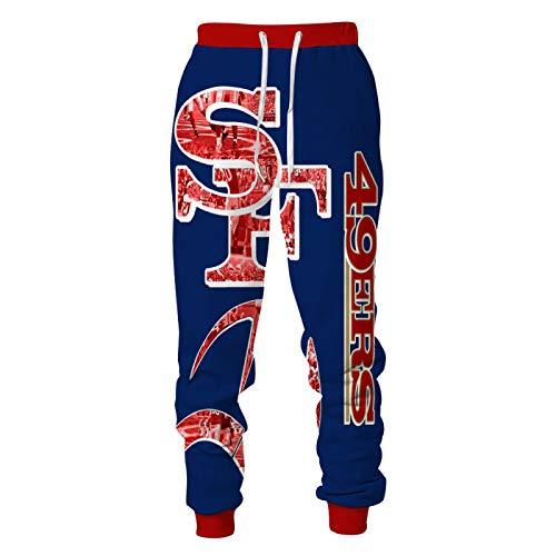 DREAMING-Camiseta de manga larga de primavera y otoño con estampado 3D Pullover Top casual con capucha + pantalones con cordón traje deportivo de 2 piezas para pareja M